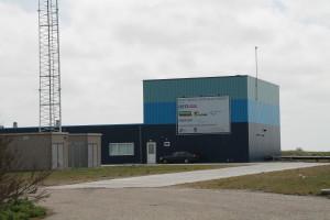 De Blue Energy centrale in Breezanddijk.